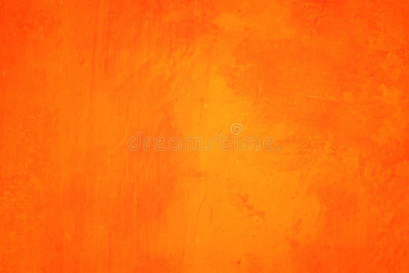 Oranje abstracte textuur als achtergrond Spatie voor ontwerp royalty-vrije stock afbeeldingen