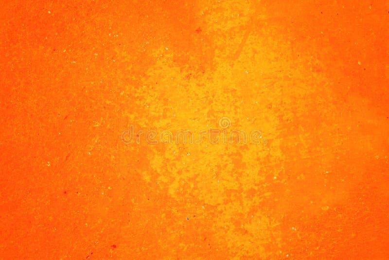 Oranje abstracte textuur als achtergrond Spatie voor ontwerp royalty-vrije stock afbeelding