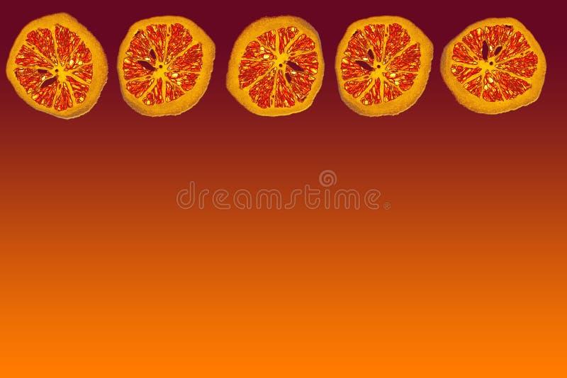 Download Oranje achtergrond stock illustratie. Afbeelding bestaande uit achtergrond - 45666
