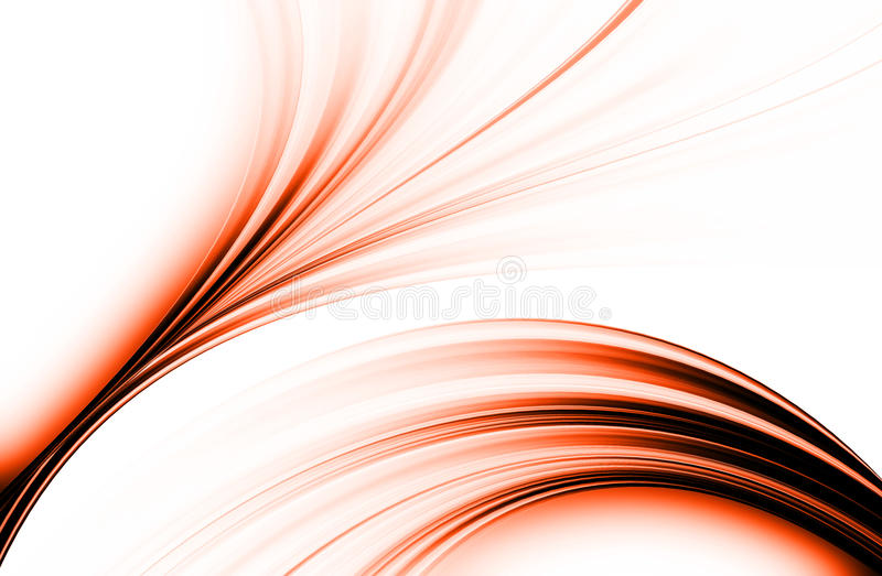 Download Oranje Achtergrond stock illustratie. Illustratie bestaande uit kromme - 54077986