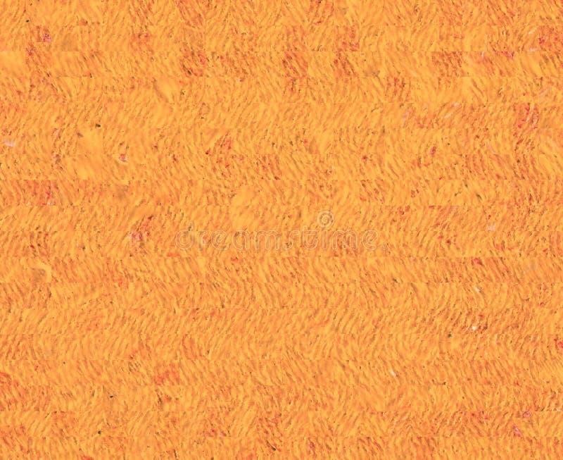 Oranje Achtergrond Olieverfschilderij op canvas en digitale technologie royalty-vrije stock foto