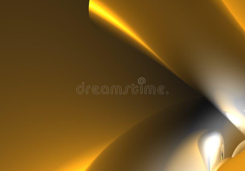 Oranje achtergrond (samenvatting) royalty-vrije illustratie