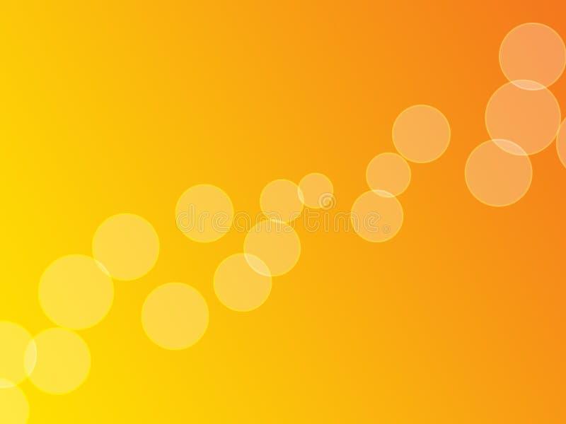 Oranje Bellen (het volledig-Scherm) royalty-vrije stock afbeelding