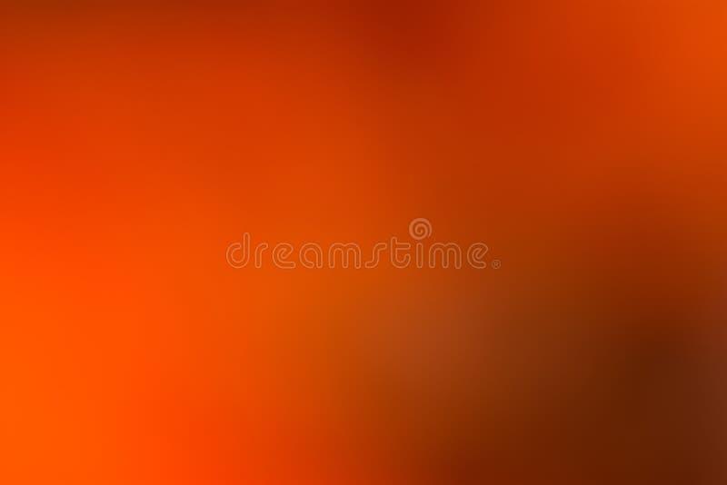 Oranje, bruine en zwarte vlotte en vage behang/achtergrond stock afbeelding
