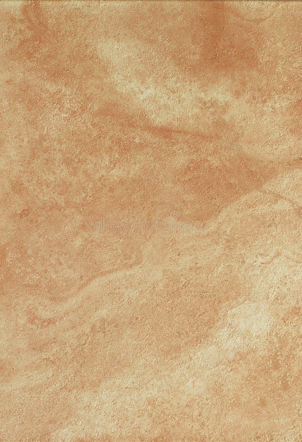 Oranje ceramiektegel royalty-vrije stock afbeeldingen