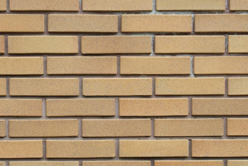 Oranje clinker bakstenen muurachtergrond royalty-vrije stock afbeeldingen