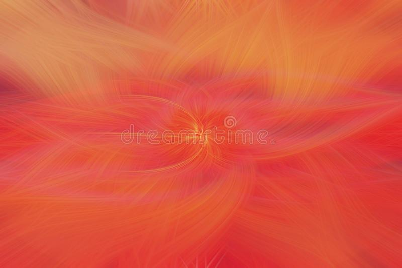 Oranje de sterachtergrond van de vlambrand bekendheid royalty-vrije illustratie