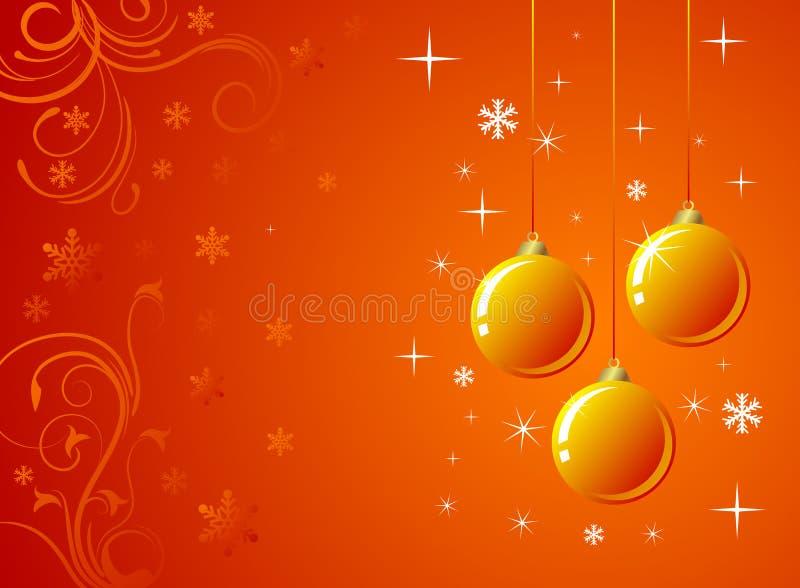 Oranje Decoratie stock illustratie