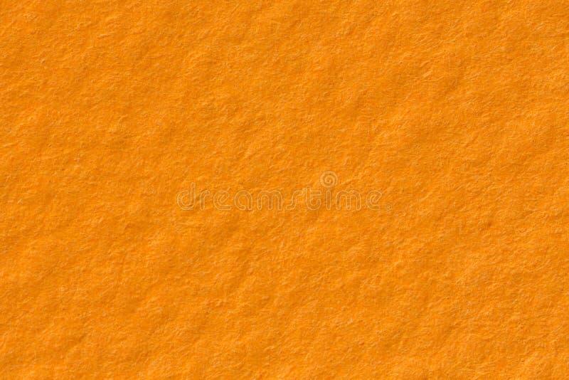 Oranje document textuurachtergrond op macro Duidelijke achtergrond royalty-vrije stock foto