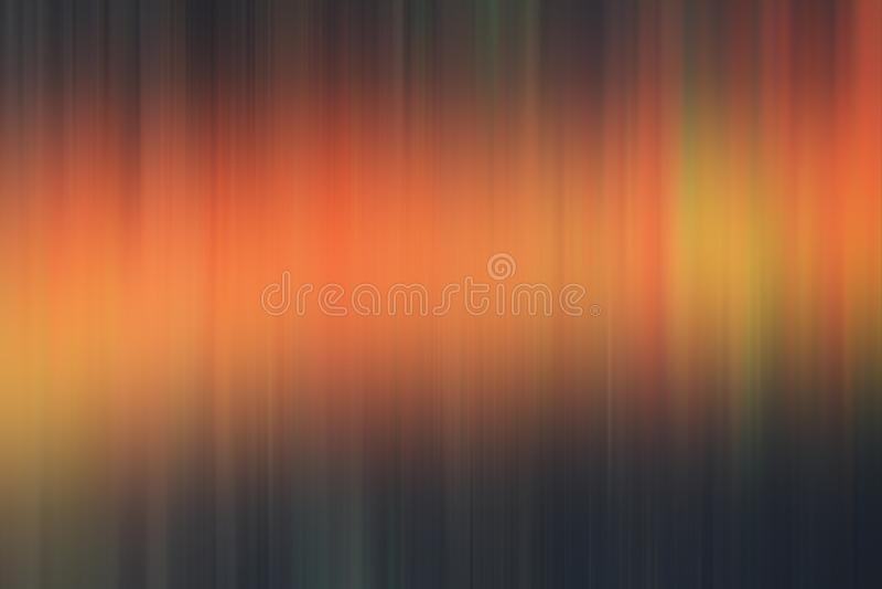 Oranje donkere vage abstracte achtergrond, lichten, meetkunde stock illustratie