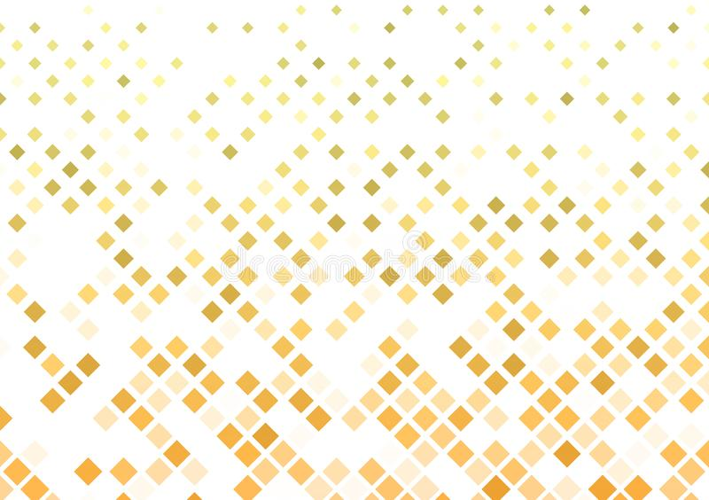 Oranje dozen gevormd ontwerp als achtergrond stock illustratie