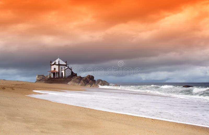 Oranje droom royalty-vrije stock fotografie