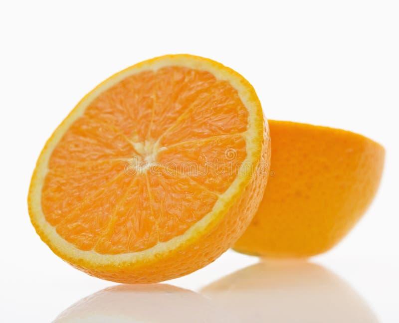Oranje fruit. royalty-vrije stock foto's