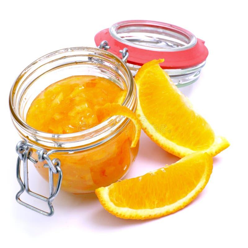 Oranje gelei royalty-vrije stock afbeelding