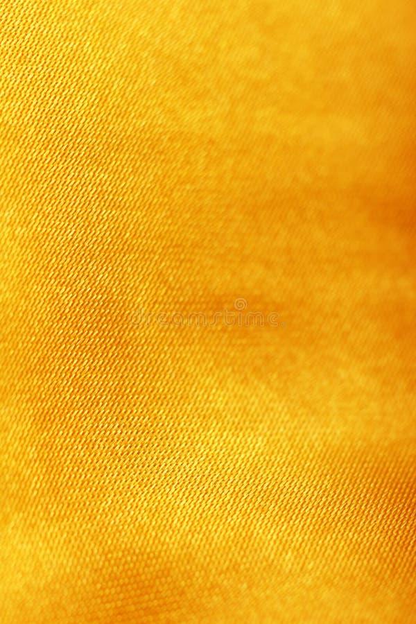 Oranje gouden zijde royalty-vrije stock fotografie