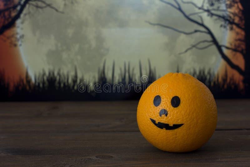 Oranje Halloween royalty-vrije stock afbeelding