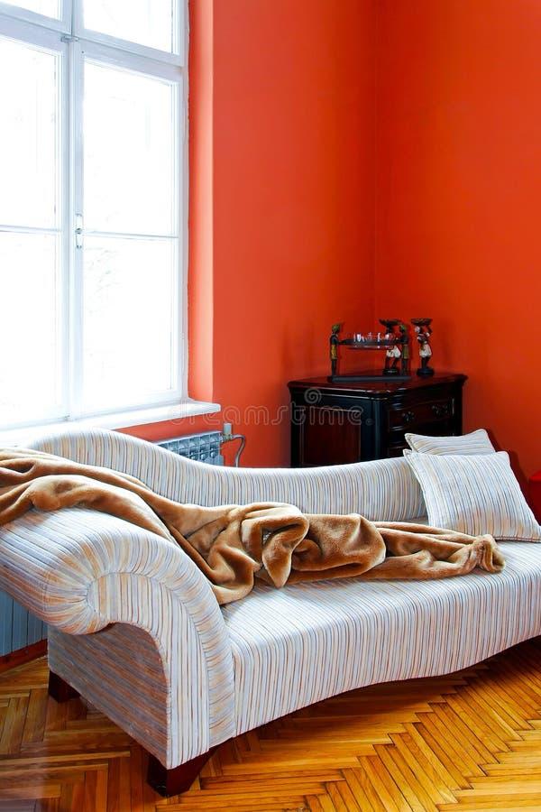 Oranje hoek royalty-vrije stock afbeelding
