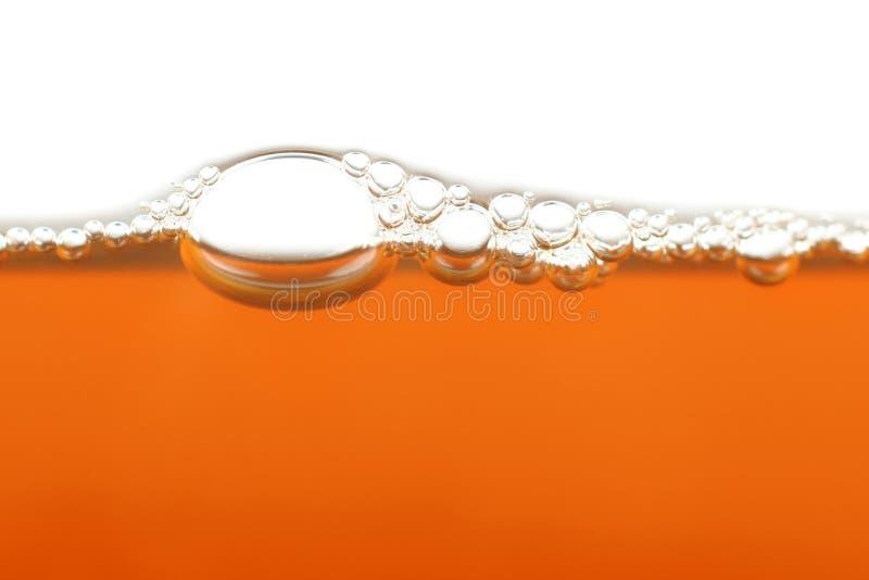 Oranje horizontale bellen stock afbeeldingen
