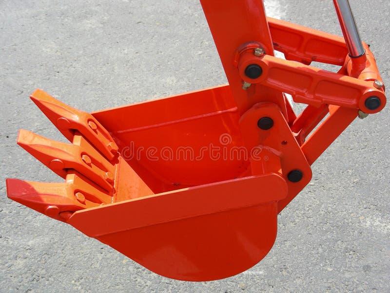 Oranje Klauw royalty-vrije stock afbeeldingen