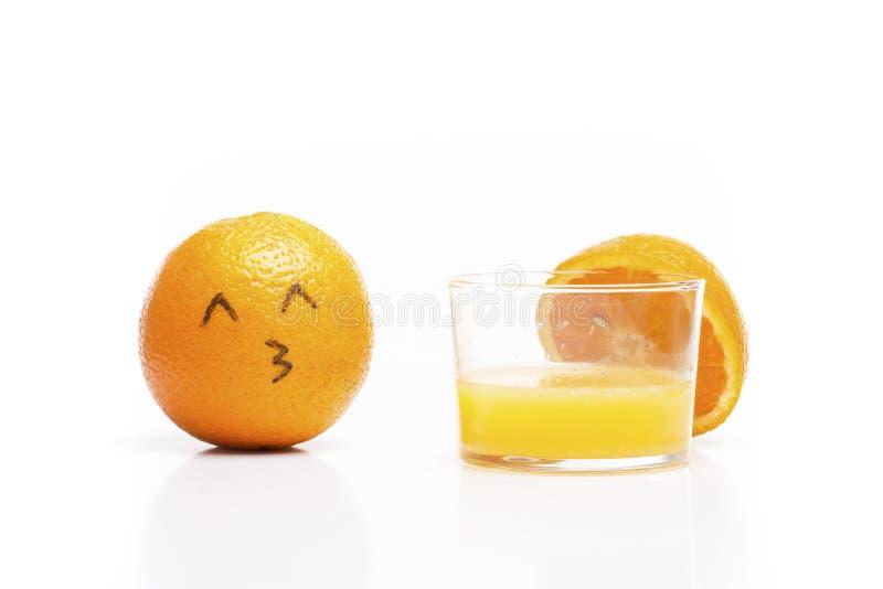 Oranje liefdessap! royalty-vrije stock foto