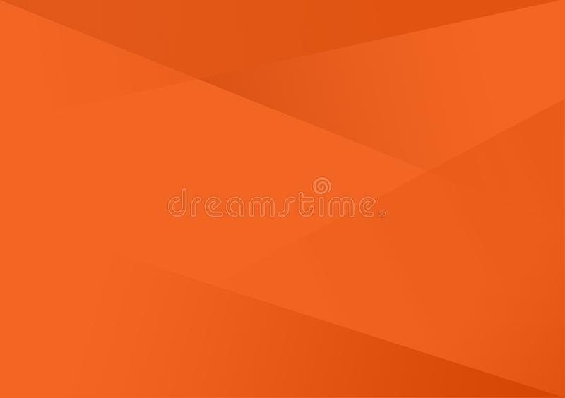 Oranje lineaire vorm achtergrondgradiëntachtergrond vector illustratie