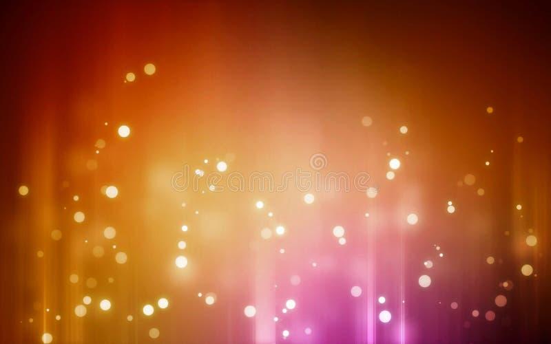 Oranje Neonbehang royalty-vrije stock fotografie