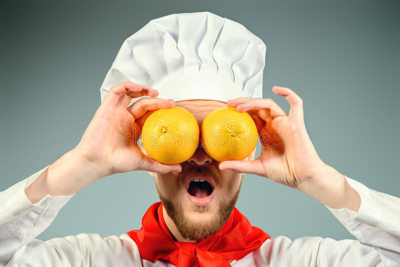 Oranje Ogen stock foto's