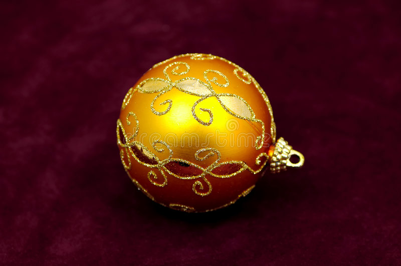 Oranje Ornament royalty-vrije stock afbeeldingen