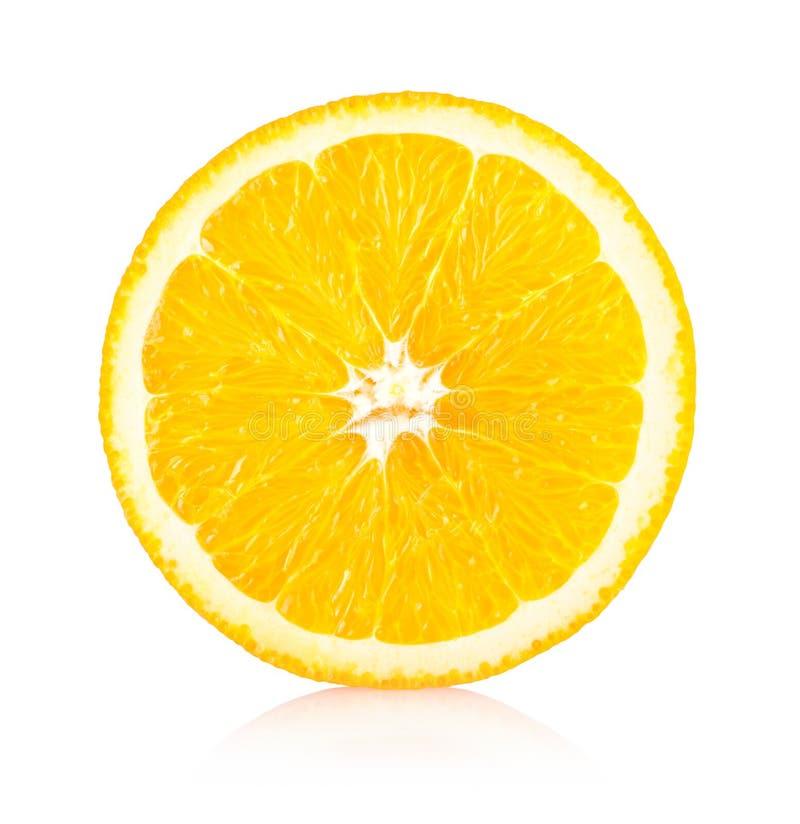 Oranje plak royalty-vrije stock fotografie