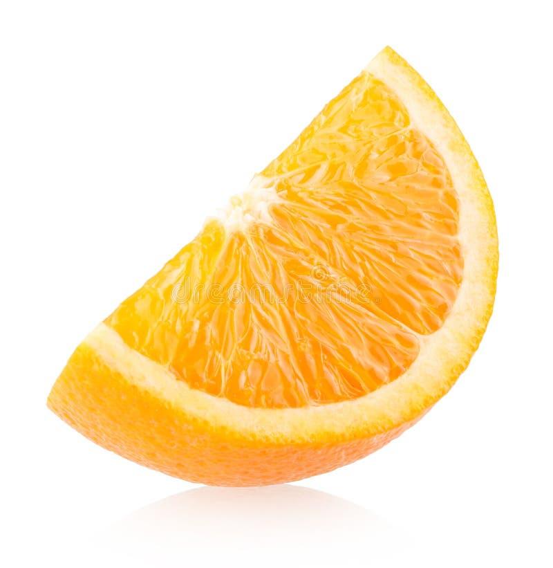 Oranje Plak royalty-vrije stock afbeelding