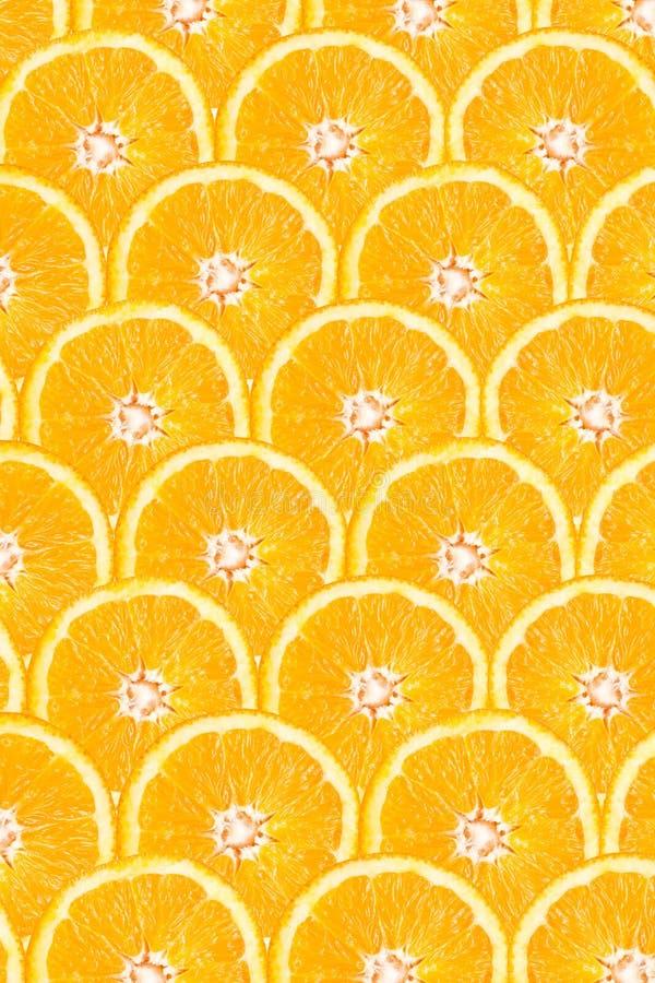 Oranje Plak Abstract Naadloos Patroon royalty-vrije stock foto