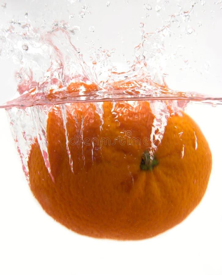 Oranje plons royalty-vrije stock afbeelding