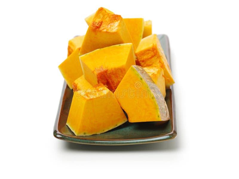 Oranje Pompoen stock foto's