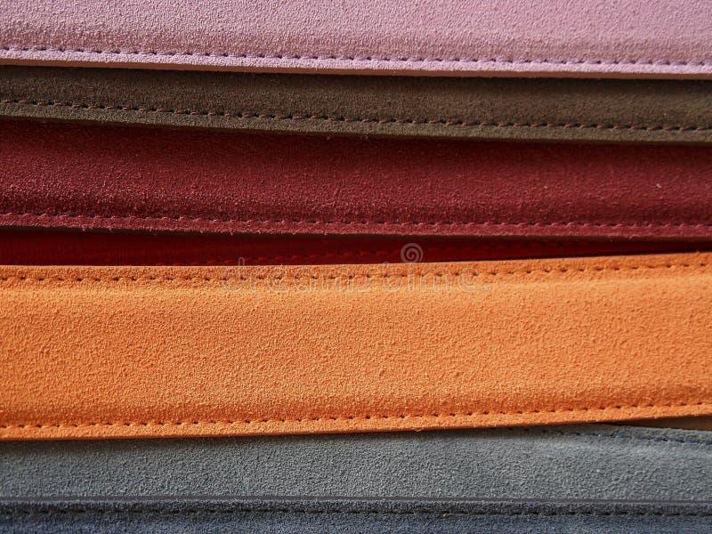 Oranje Rechthoekige Bundel dichtbij Grey Rectangular Strand royalty-vrije stock foto