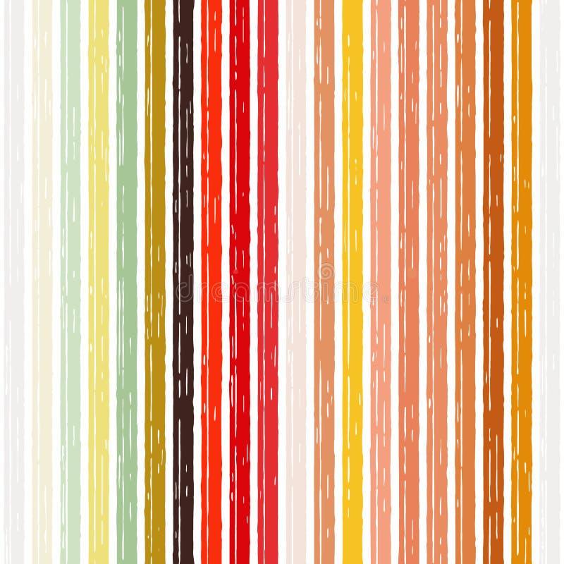 Oranje rode gele streep als achtergrond cinder royalty-vrije illustratie