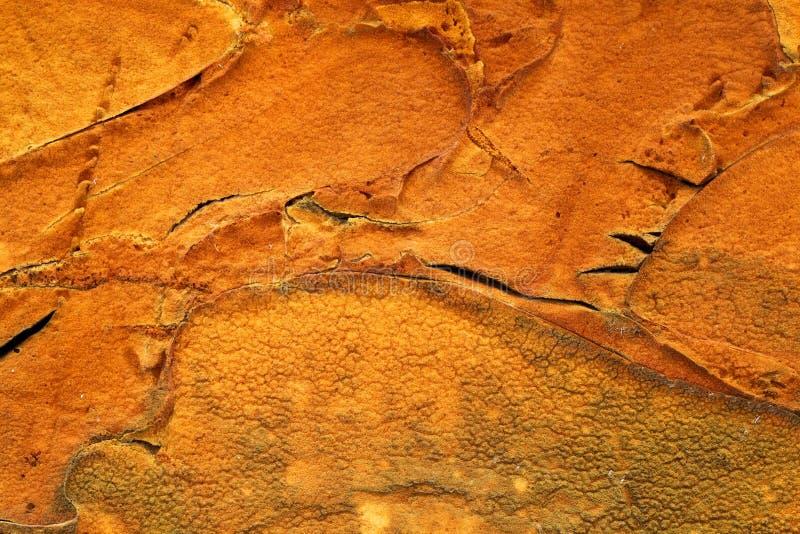 Oranje schuimtextuur stock foto