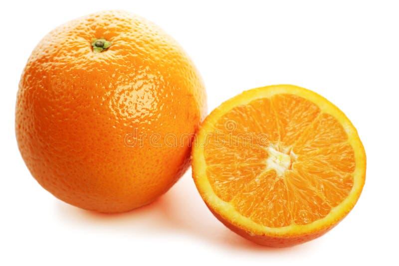 Oranje segment royalty-vrije stock foto