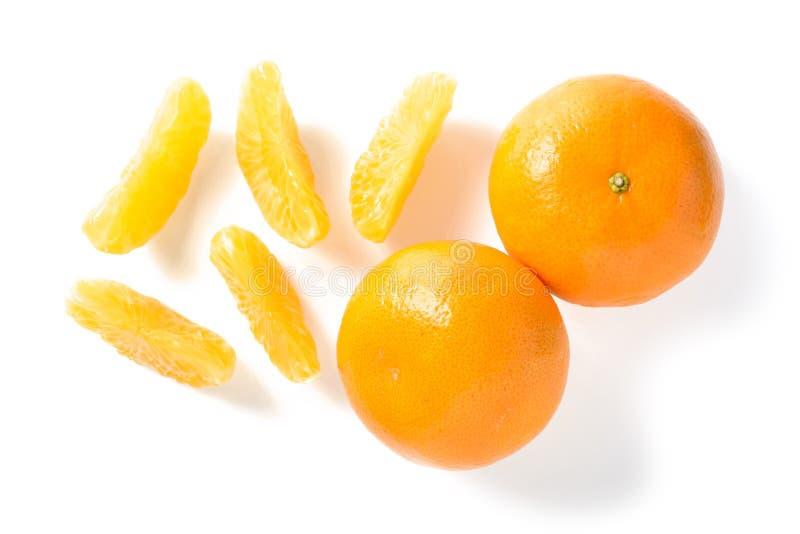 Oranje segment royalty-vrije stock afbeeldingen