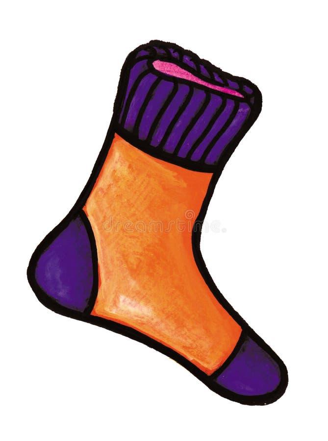 Oranje sok stock illustratie