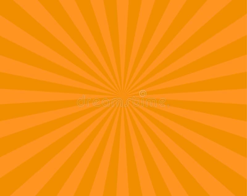 Oranje strepenvlieger als achtergrond vector illustratie