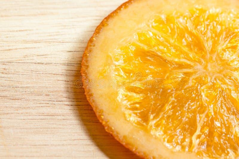 Oranje suikergoed royalty-vrije stock fotografie