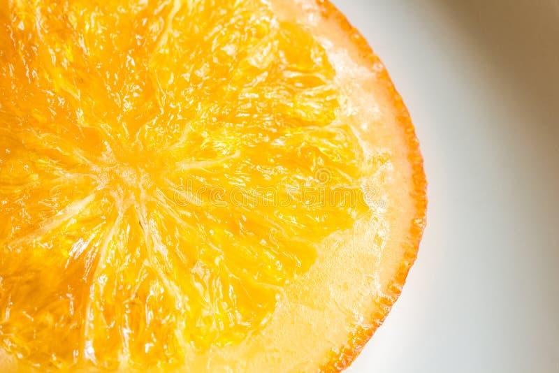 Oranje suikergoed royalty-vrije stock foto's