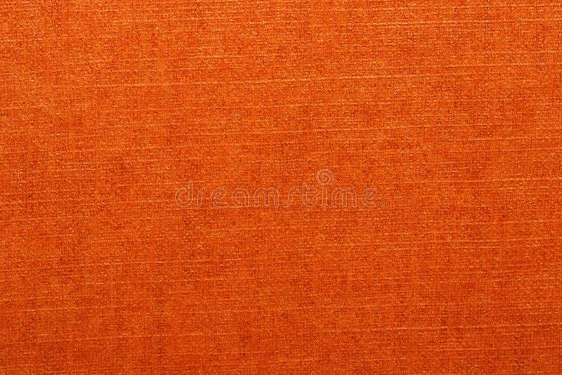 Oranje Textuur Close-up van een heldere naadloze oranje document of kartonachtergrond van de detailtextuur voor ontwerp en tekst  royalty-vrije stock foto