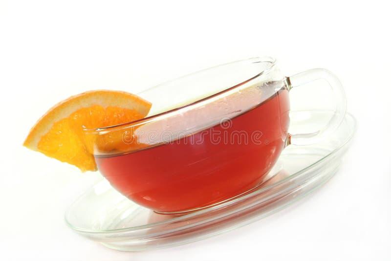 Oranje thee stock afbeeldingen