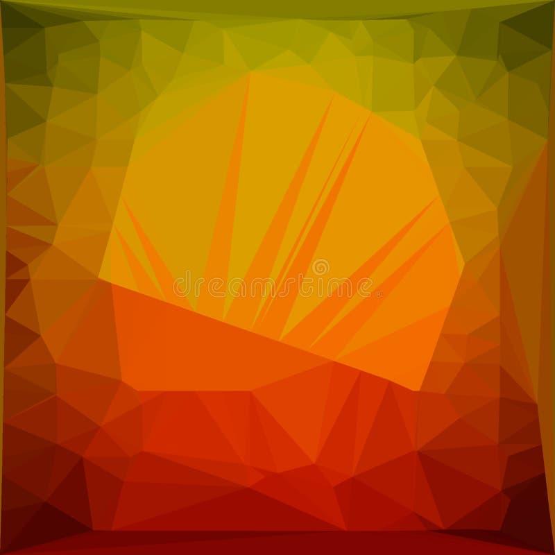 Oranje triangulering 7 stock foto's