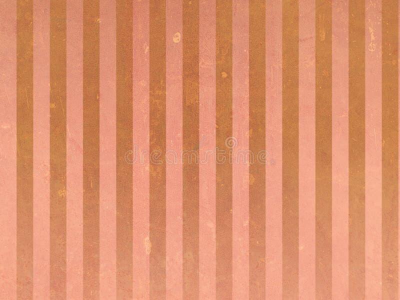 Oranje Uitstekende achtergrond vector illustratie