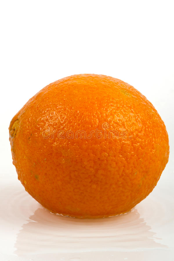Download Oranje Vruchten En Bespattend Water Dat Op Wit Worden Geïsoleerdh Stock Afbeelding - Afbeelding bestaande uit eating, vitamine: 29502511