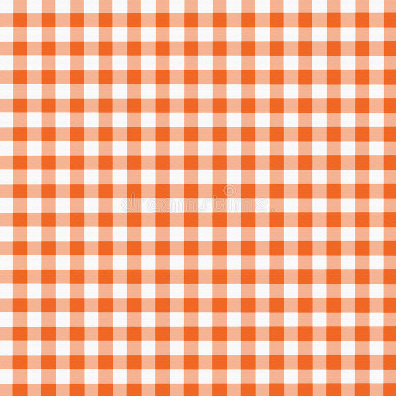 Oranje Witte Gingang royalty-vrije illustratie