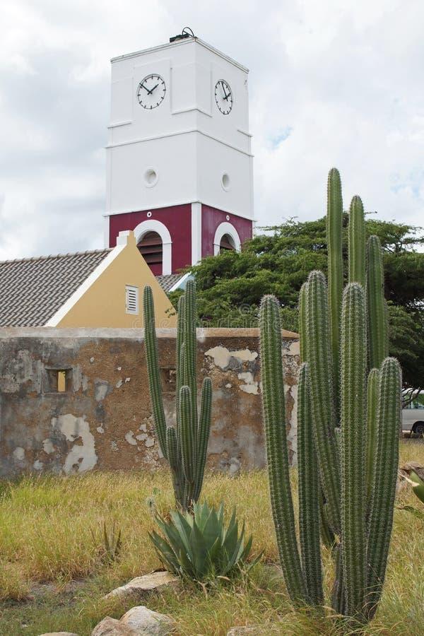 Oranjestad,阿鲁巴, ABC海岛 库存照片