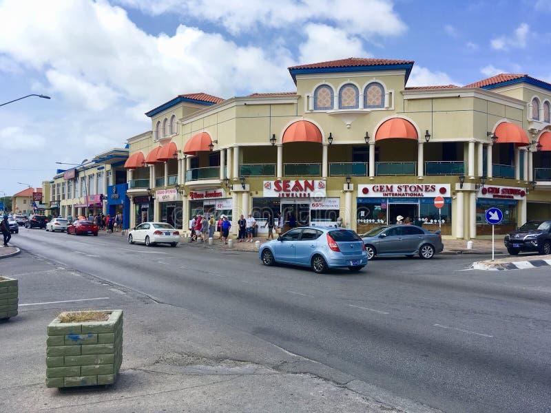 Oranjestad, Aruba immagini stock libere da diritti